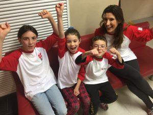 Katrina and her children
