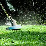 Lawn maintenance during the upcoming fire season